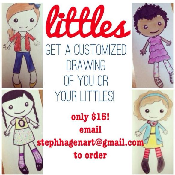 cute custom drawings by steph hagen art